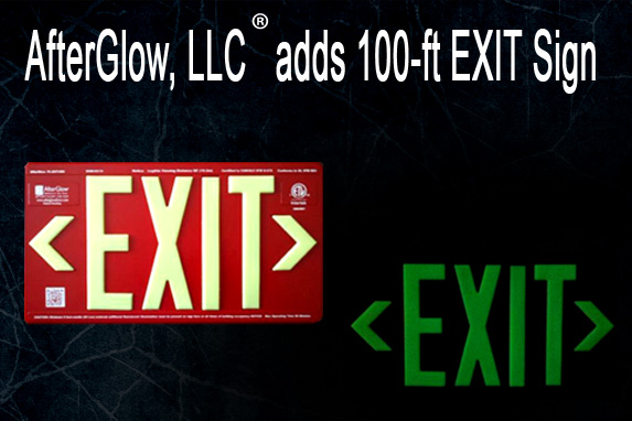 AfterGlow, LLC Is Building A New Distribution    Chain For Its Newly-Listed AfterGlow® Brand 100-ft Photoluminescent EXIT Signs